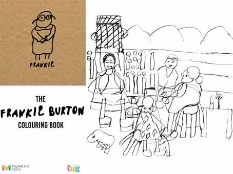 The Frankie BURTON Colouring Book